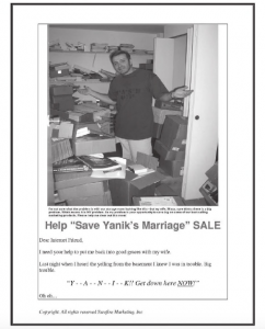 ヤニクの結婚生活を救え!